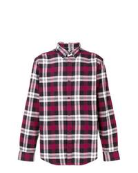 Camisa de manga larga de tartán en rojo y blanco de Carhartt Heritage