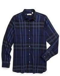 Camisa de manga larga de tartan original 364128