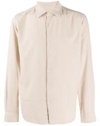 Camisa de manga larga en beige de Altea