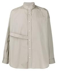 Camisa de manga larga en beige de Damir Doma