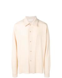 Camisa de manga larga en beige de Ethosens