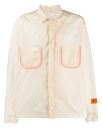 Camisa de manga larga en beige de Heron Preston