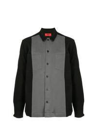 Camisa de manga larga en gris oscuro de 424