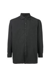 Camisa de Manga Larga en Gris Oscuro de Casey Casey