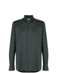 Camisa de manga larga en gris oscuro de Orian