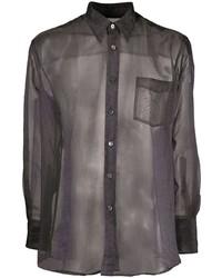 Camisa de manga larga en gris oscuro de Our Legacy