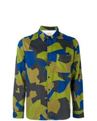 Camisa de manga larga en multicolor de Nudie Jeans Co