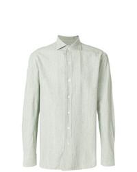 Camisa de manga larga en verde menta de Doppiaa