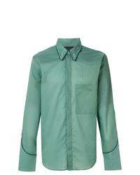 Camisa de manga larga en verde menta de Golden Goose Deluxe Brand