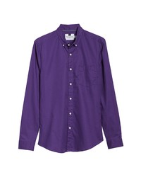 Camisa de Manga Larga en Violeta