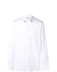 Camisa de manga larga estampada blanca de Neil Barrett