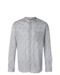 Camisa de manga larga estampada gris de Dnl