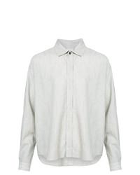 Camisa de manga larga gris de Jan Jan Van Essche