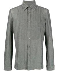 Camisa de manga larga gris de Missoni