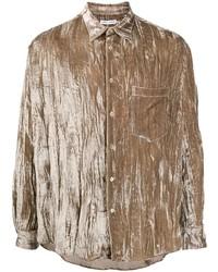 Camisa de manga larga marrón de Cmmn Swdn