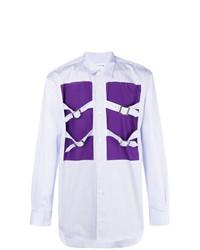 Camisa de manga larga morado de Comme Des Garcons SHIRT