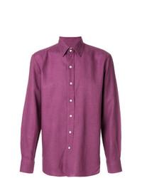 Camisa de manga larga morado de Doppiaa