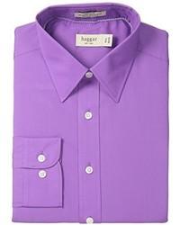 Camisa de manga larga morado de Haggar