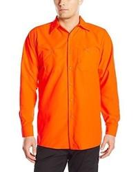 Camisa de Manga Larga Naranja de Red Kap