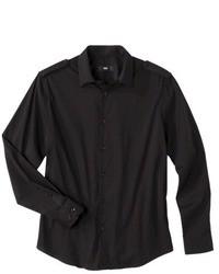 Camisa de manga larga negra