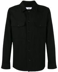 Camisa de manga larga negra de AMI Alexandre Mattiussi