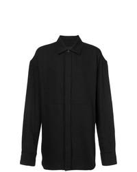 Camisa de manga larga negra de Ann Demeulemeester