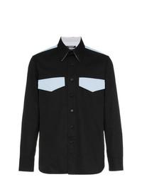 Camisa de manga larga negra de Calvin Klein 205W39nyc