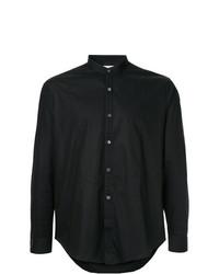 Camisa de manga larga negra de Cerruti 1881