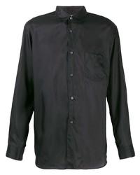 Camisa de manga larga negra de Comme Des Garcons SHIRT