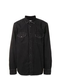 Camisa de manga larga negra de Diesel
