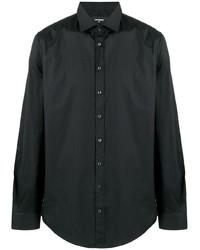 Camisa de manga larga negra de DSQUARED2