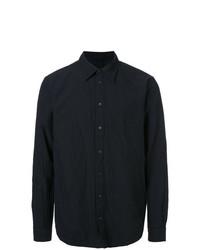 Camisa de Manga Larga Negra de Forme D'expression