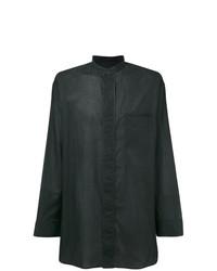 Camisa de Manga Larga Negra de Haider Ackermann