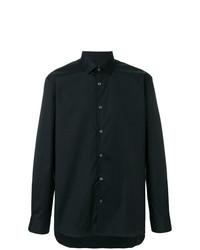 Camisa de manga larga negra de John Varvatos