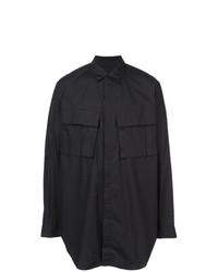 Camisa de manga larga negra de Julius