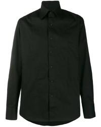 Camisa de manga larga negra de Karl Lagerfeld
