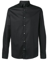 Camisa de manga larga negra de Les Hommes Urban