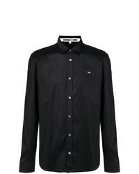 Camisa de manga larga negra de McQ Alexander McQueen