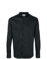 Camisa de manga larga negra de Paolo Pecora