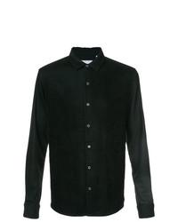 Camisa de manga larga negra de Private Stock