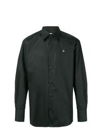Camisa de manga larga negra de Vivienne Westwood