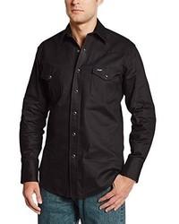 Camisa de Manga Larga Negra de Wrangler