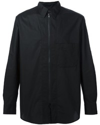 Camisa de Manga Larga Negra de Y-3