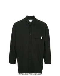 Camisa de manga larga negra de Yoshiokubo