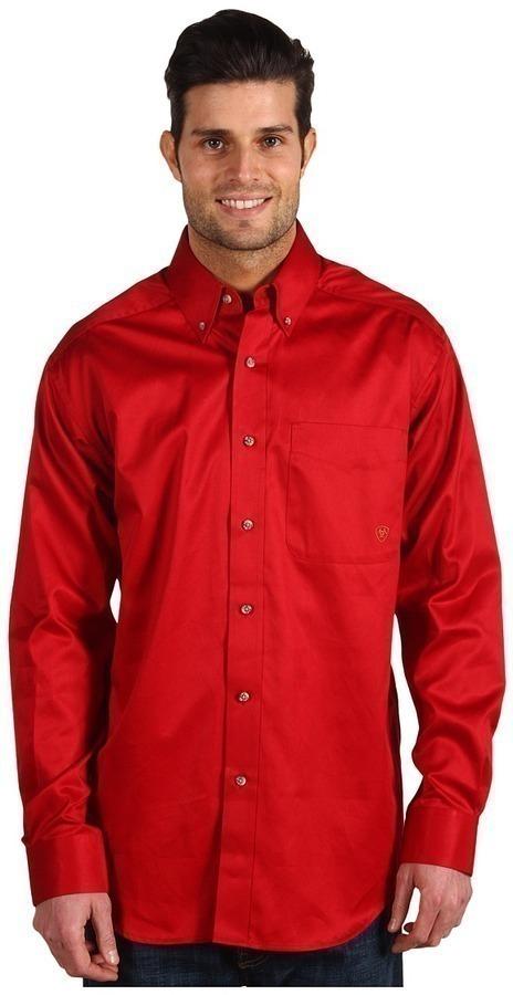 c07552195f5ad Camisas rojas manga corta Brixton para hombre XpjtI2rG1r ...