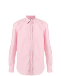 Camisa de manga larga rosada de Aspesi