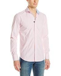 Camisa de manga larga rosada de Bogosse