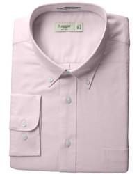 Camisa de manga larga rosada de Haggar