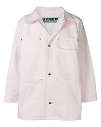 Camisa de manga larga rosada de Vyner Articles
