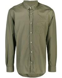 Camisa de manga larga verde oliva de Officine Generale